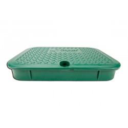 Tapa verde para arqueta 02674